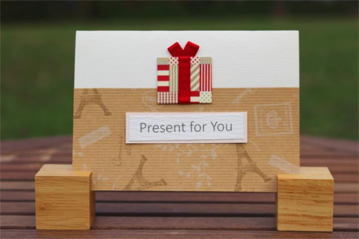 "Shiori のメッセージカード ""Present for You""_1"