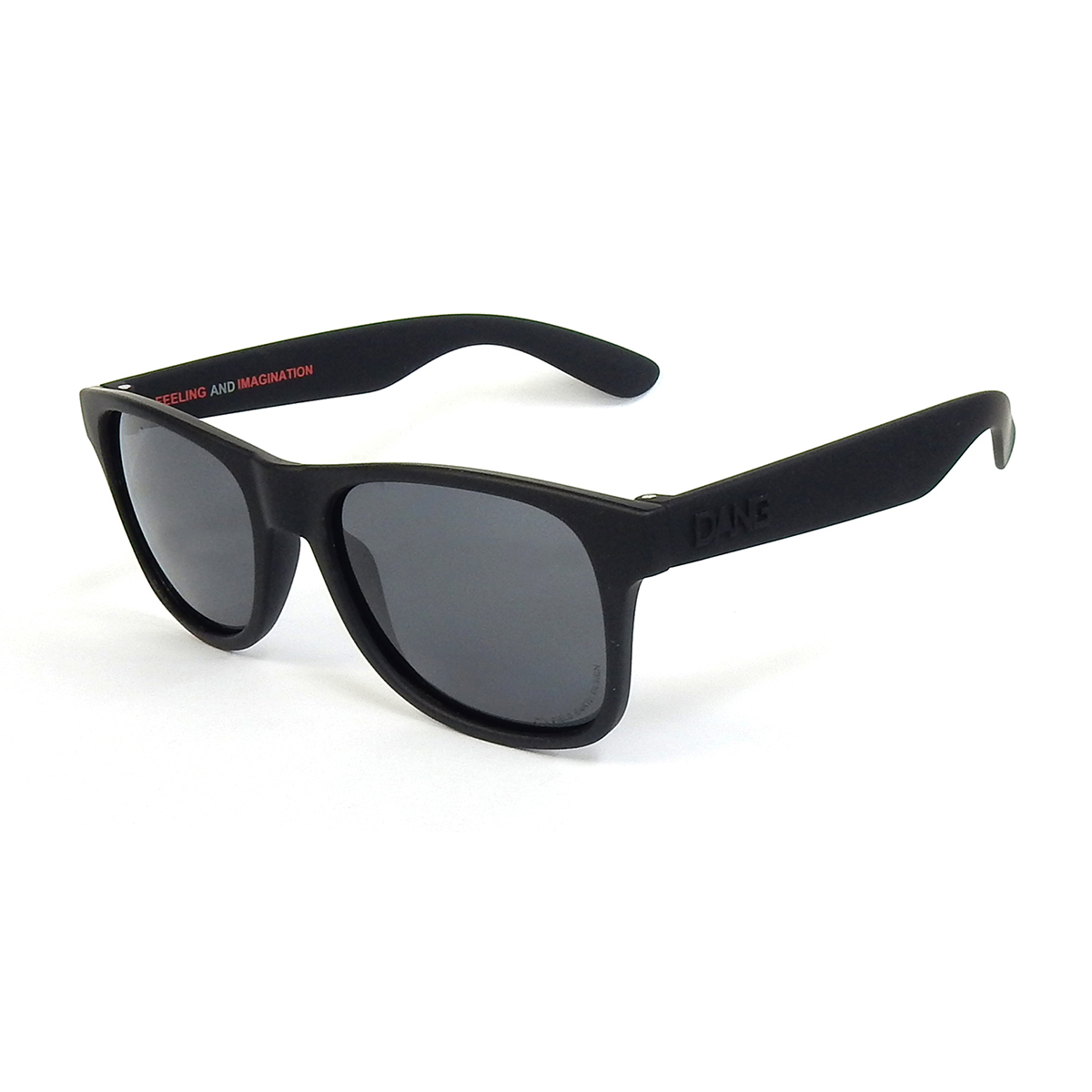 【DANG SHADES】LOCO RAISED Black Soft x Black Polarized FIELD EARTH collaboration model