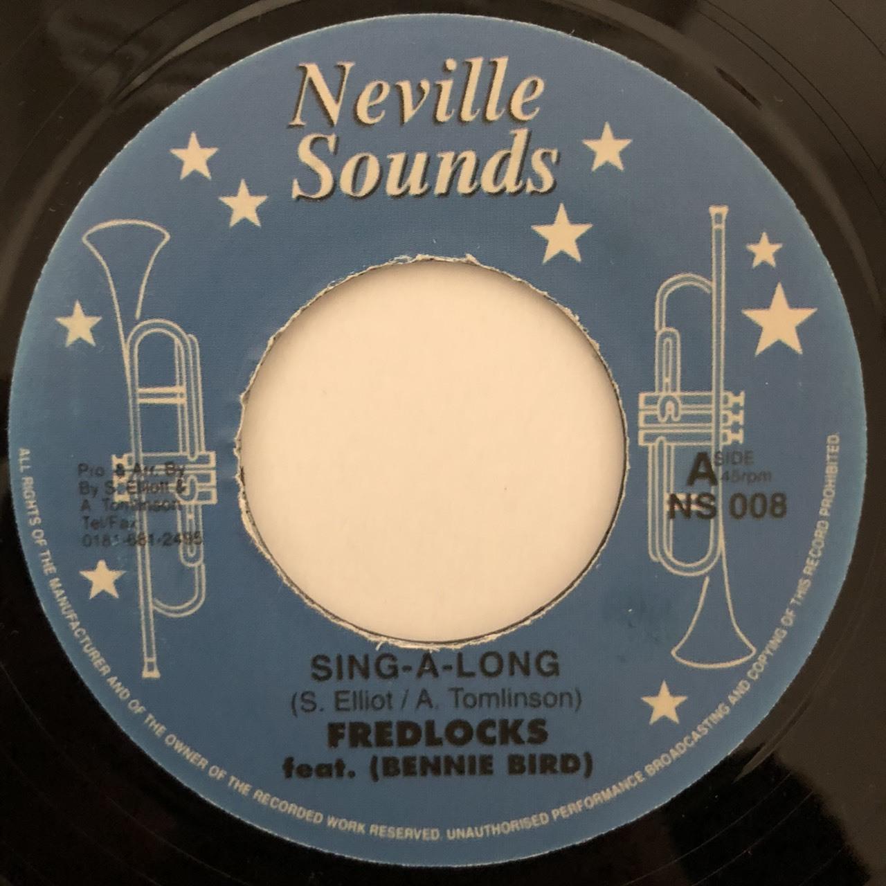 Fred Locks - Sing A Long【7-20476】