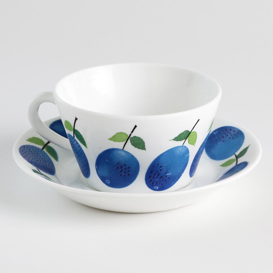 Gustavsberg グスタフスベリ Prunus プルーヌス ティーカップ&ソーサー - 5 北欧ヴィンテージ