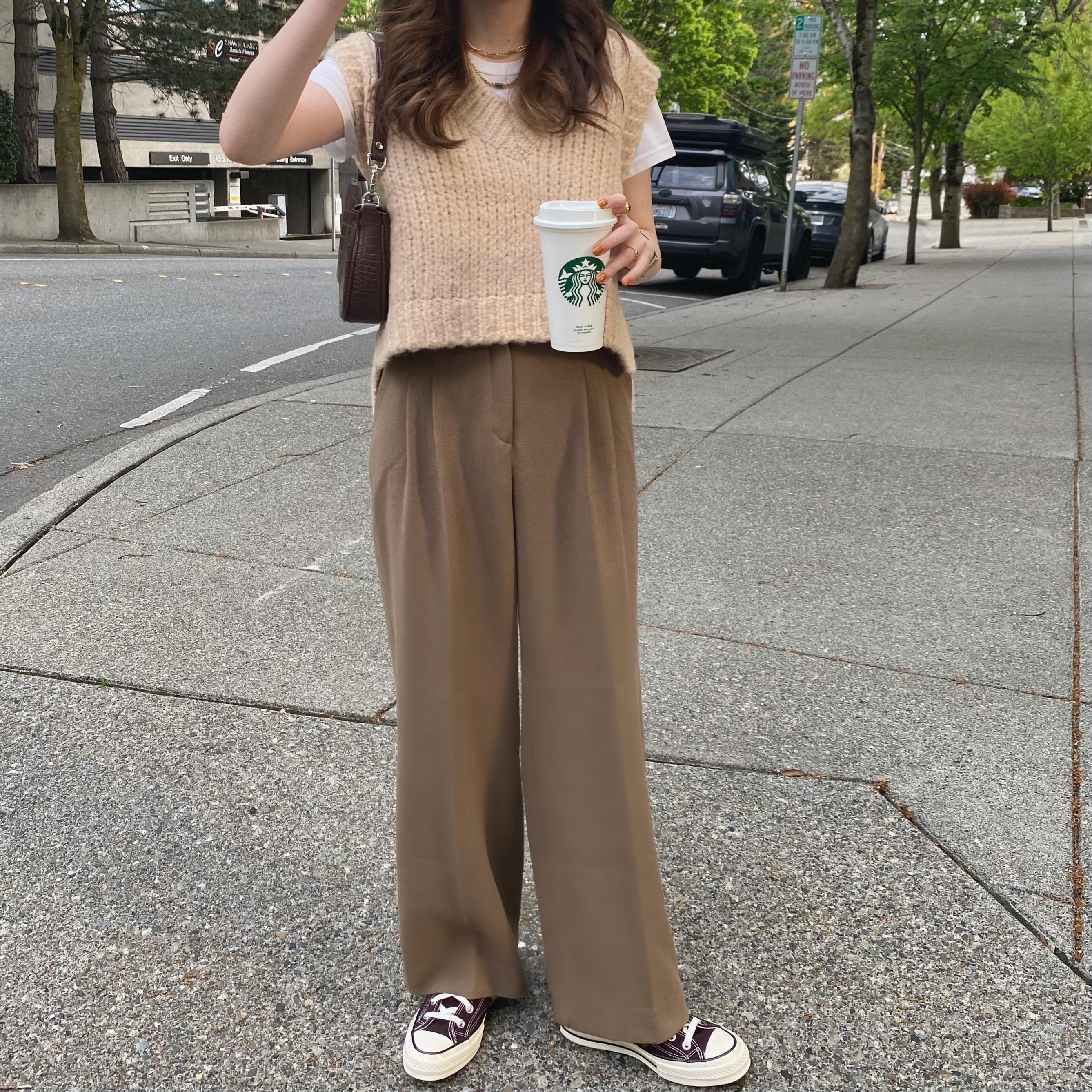 【6/13締】DAYNYC thing slacks(brown)