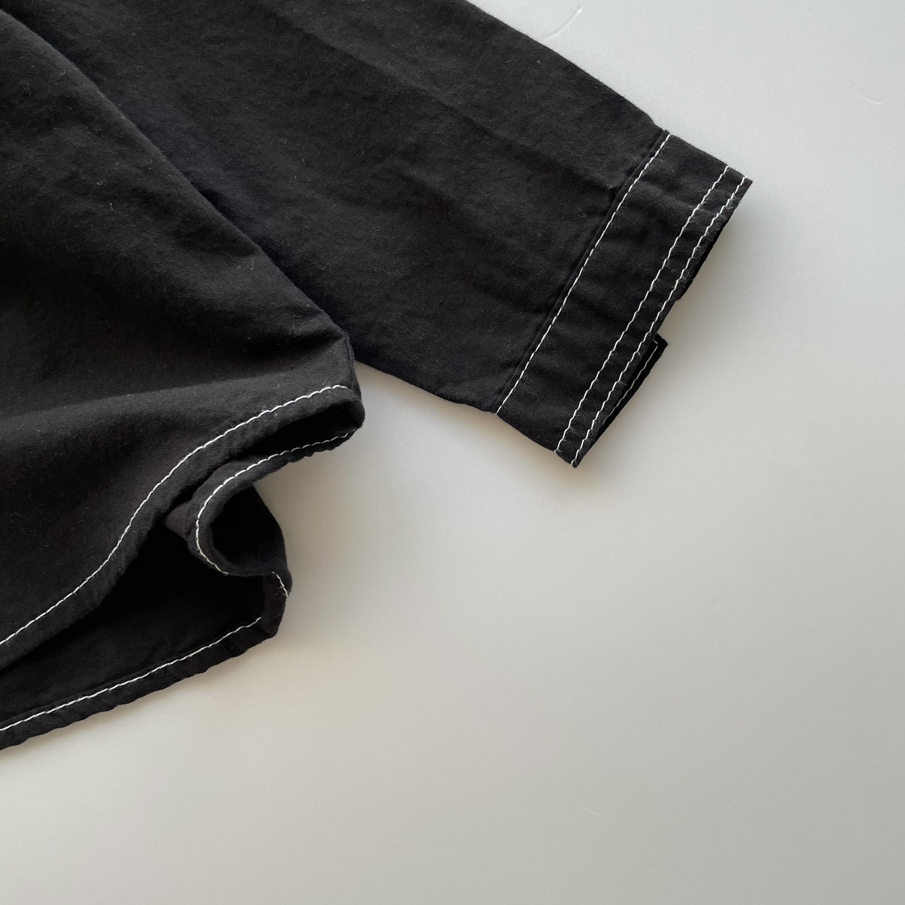 NO.1284  stitch shirt Jr.size