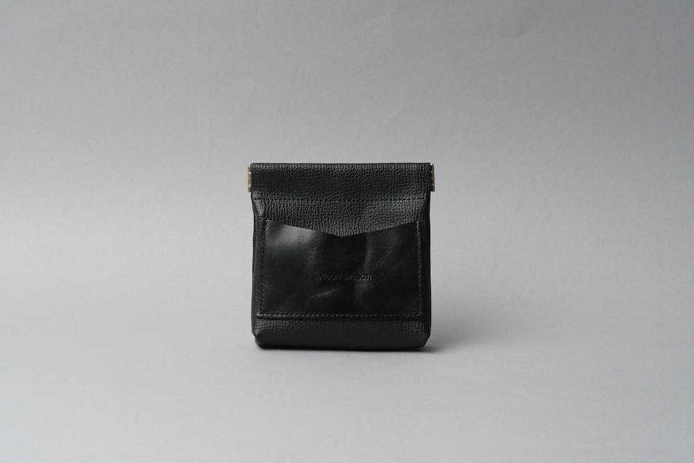 ワンタッチ・コインケース ■ブラック・ブラック■ - 画像1