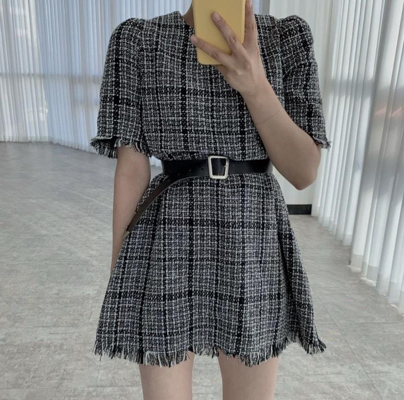 lose tweed dress