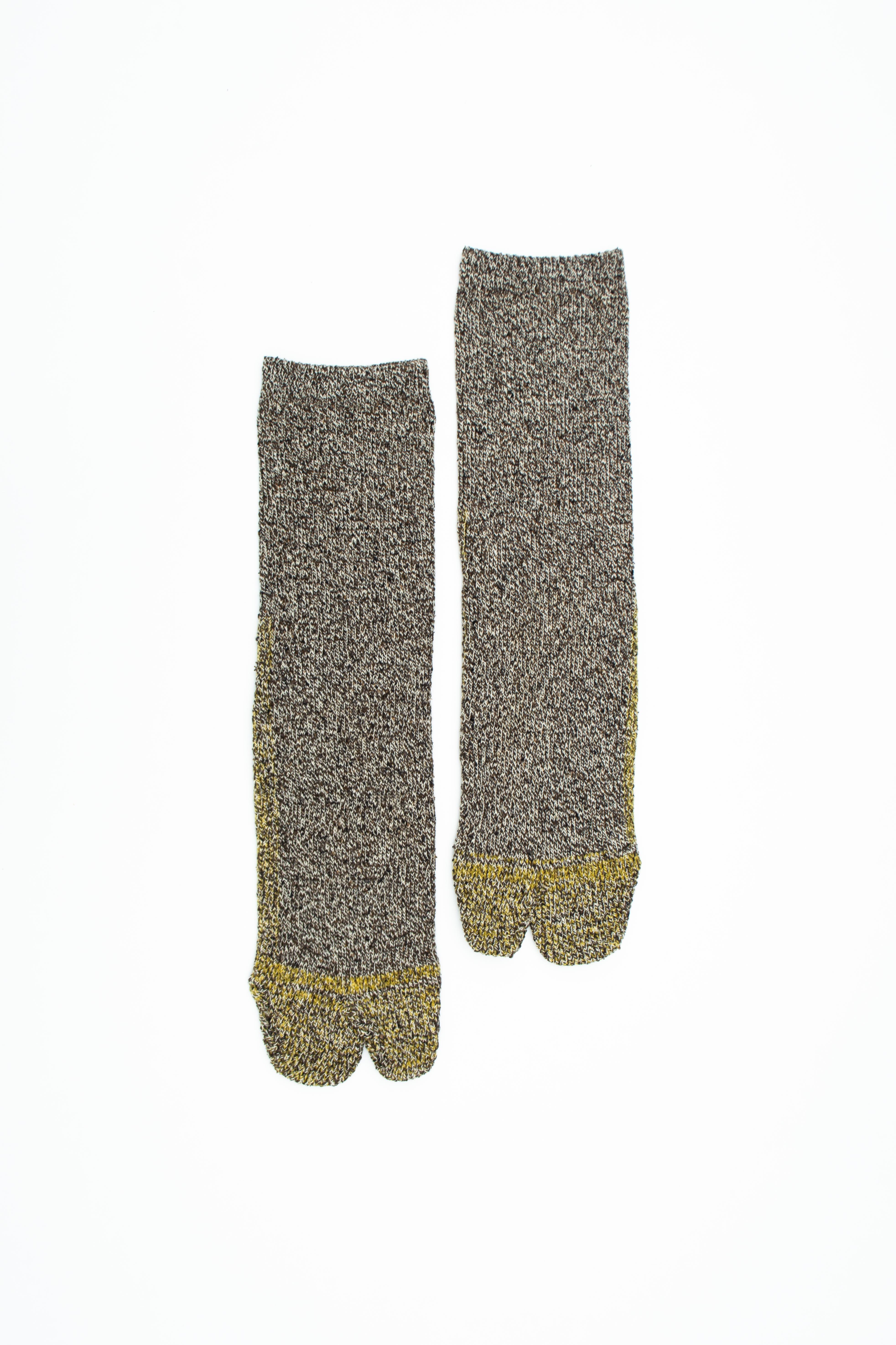 Cotton Silk Socks(Yellow)