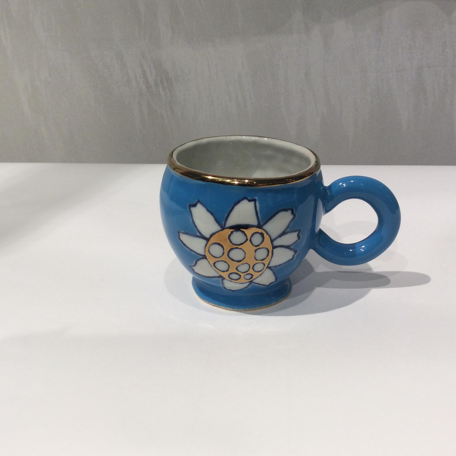 SANZOKU / 花カップ ブルーa