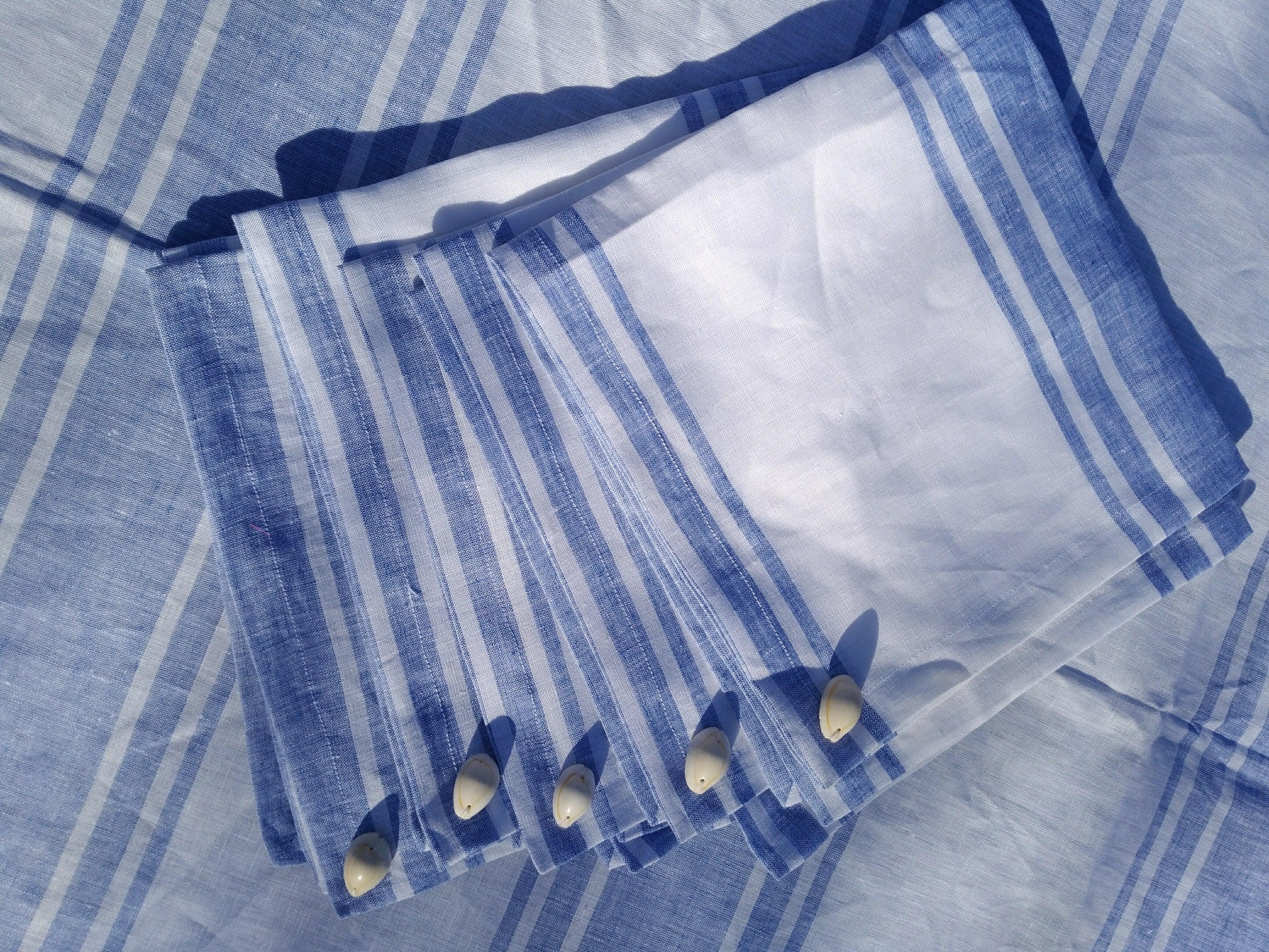 Linen100% Table Napkin CEUTA 6 peiceリネン100% テーブルナプキン セウタ 6枚1セット