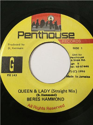 Beres Hammond(ベレスハモンド) - Queen And Lady 【7'】