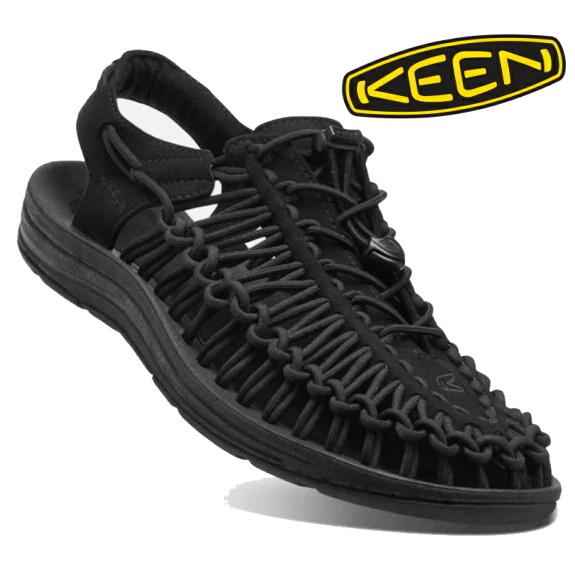 KEEN キーン メンズ サンダル ユニーク BLACK/BLACK 1014097