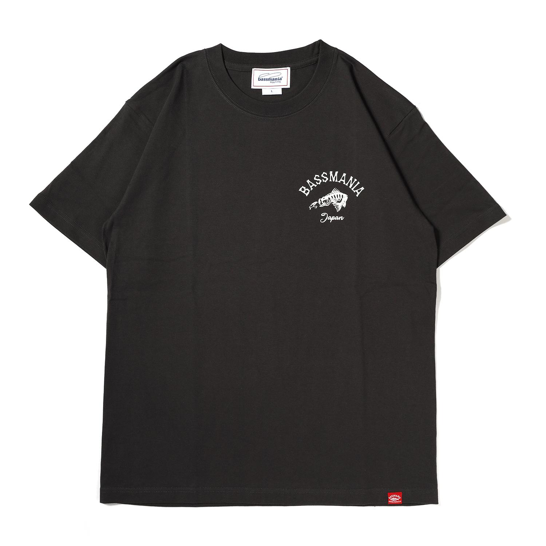 スカルプリントTシャツ[S.BLK]