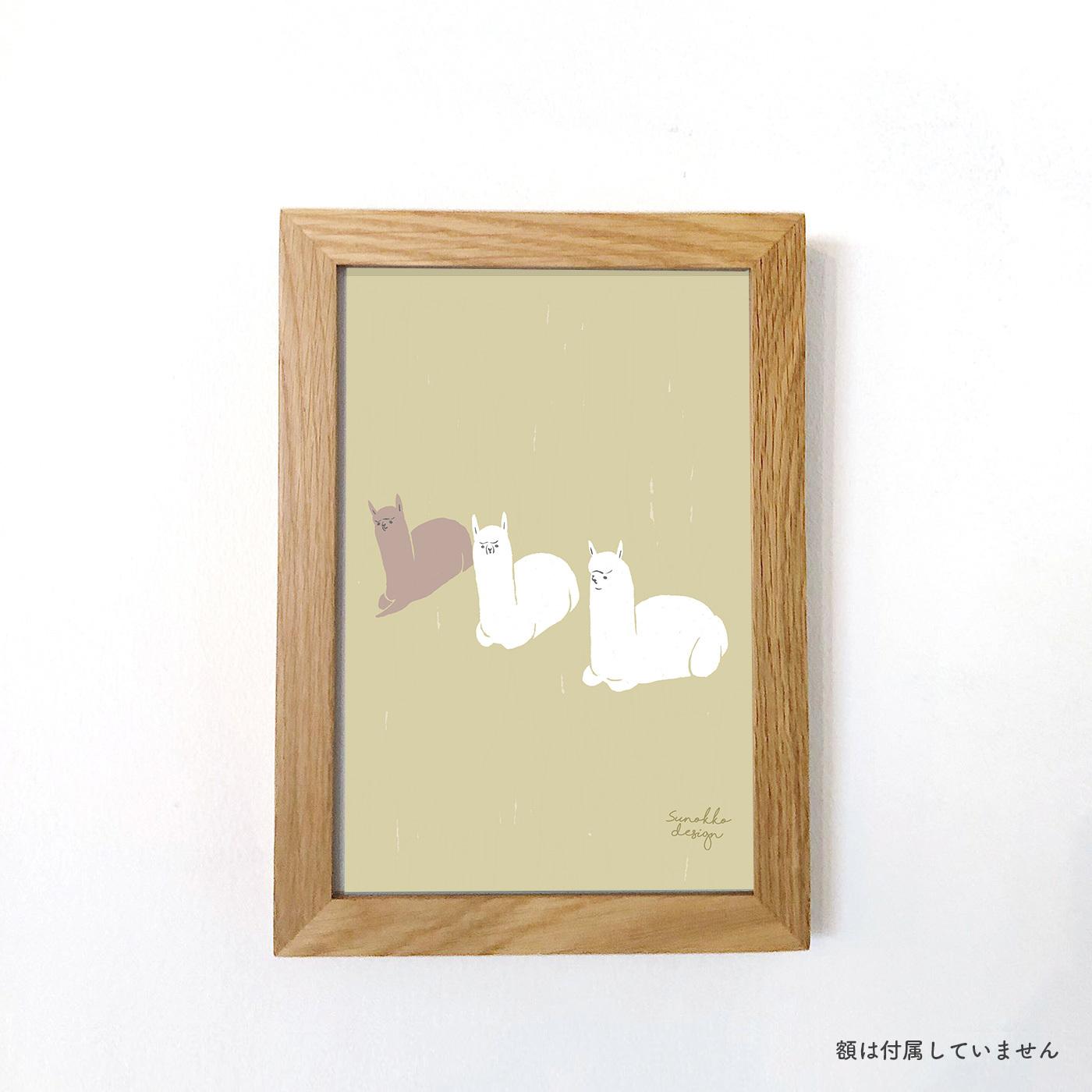 A5アートポスター [あつまり]