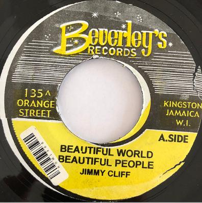 Jimmy Cliff(ジミークリフ) - Wonderful World Wonderful People【7'】