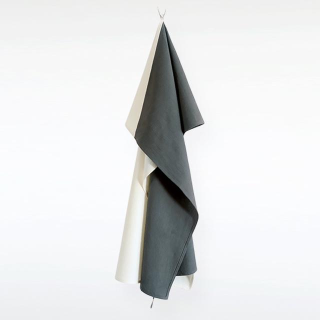Organic Cape / 母子を包む布 Dark-Gray