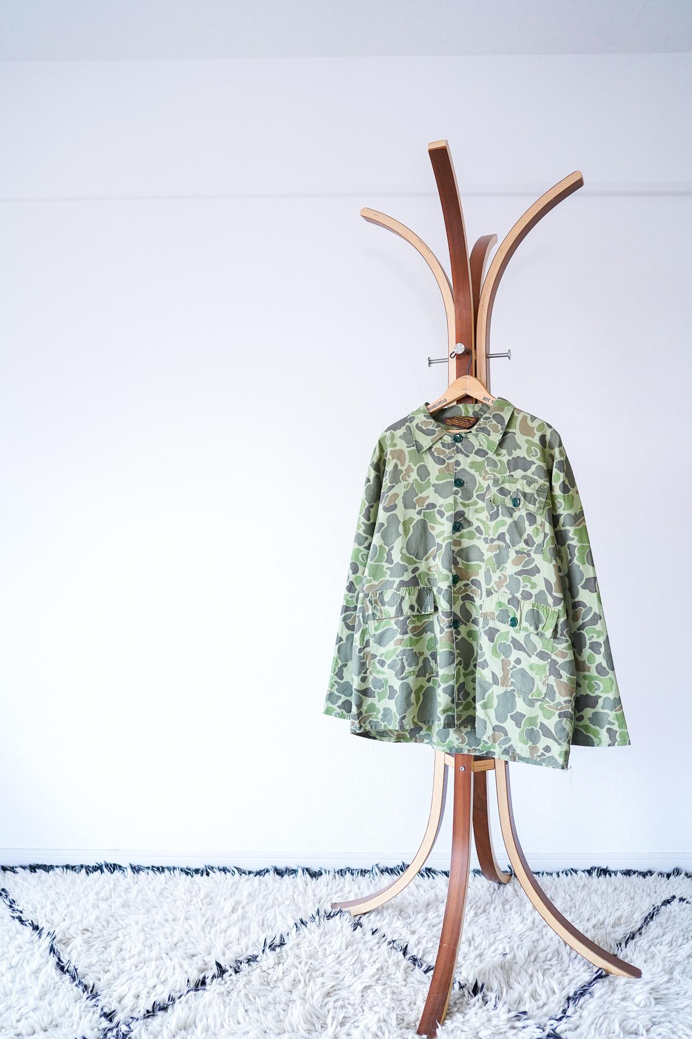 """【1970s】""""Duck Hunter Camouflage"""" 3-Pockets JKT, US Vintage / v561"""
