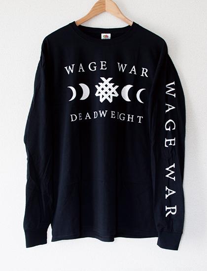 【WAGE WAR】Deadweight Long Sleeve (Black)