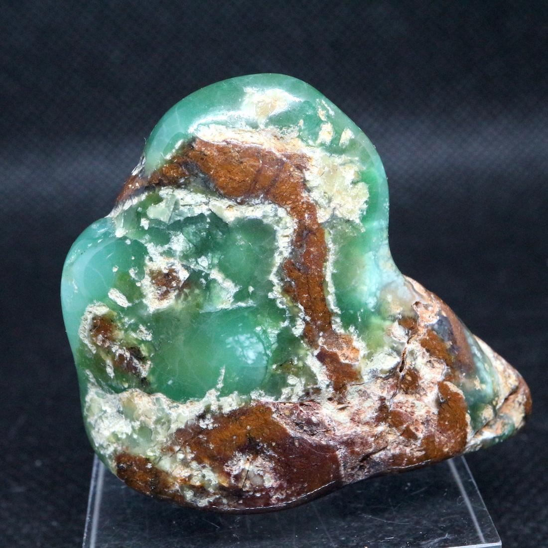 クリソプレーズ 緑玉髄 オーストラリア産  36g CSP014  原石 天然石 鉱物 パワーストーン