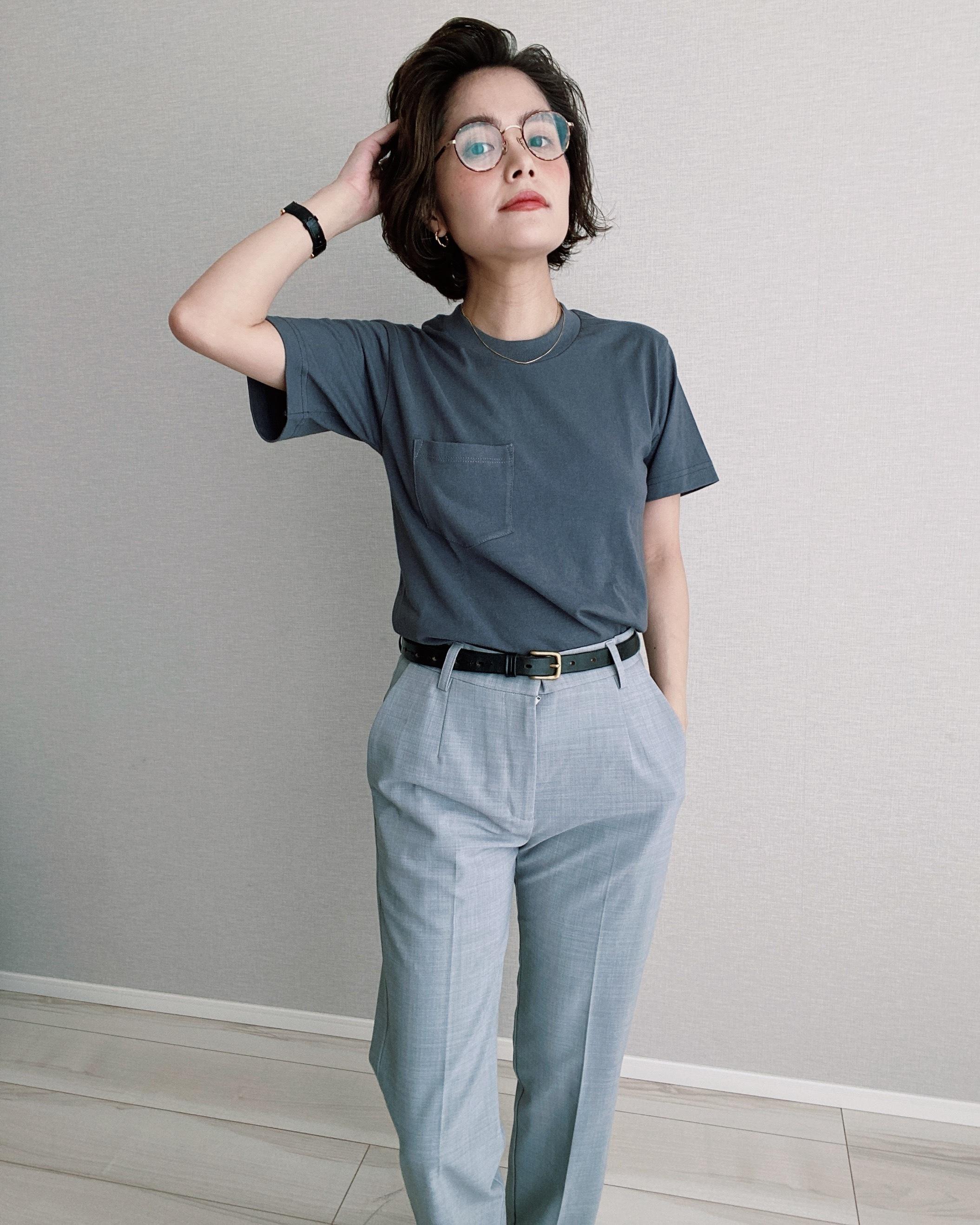 (CS274)PRO-TAG pocket T-shirt made in USA