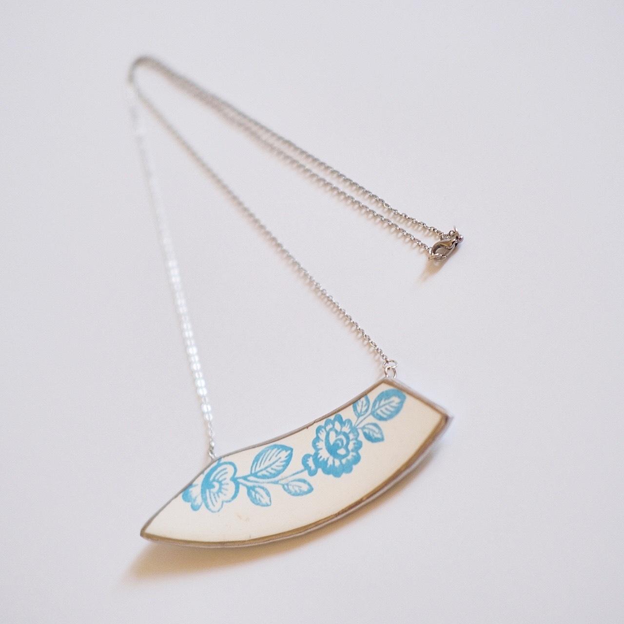 Broken Plate Necklace