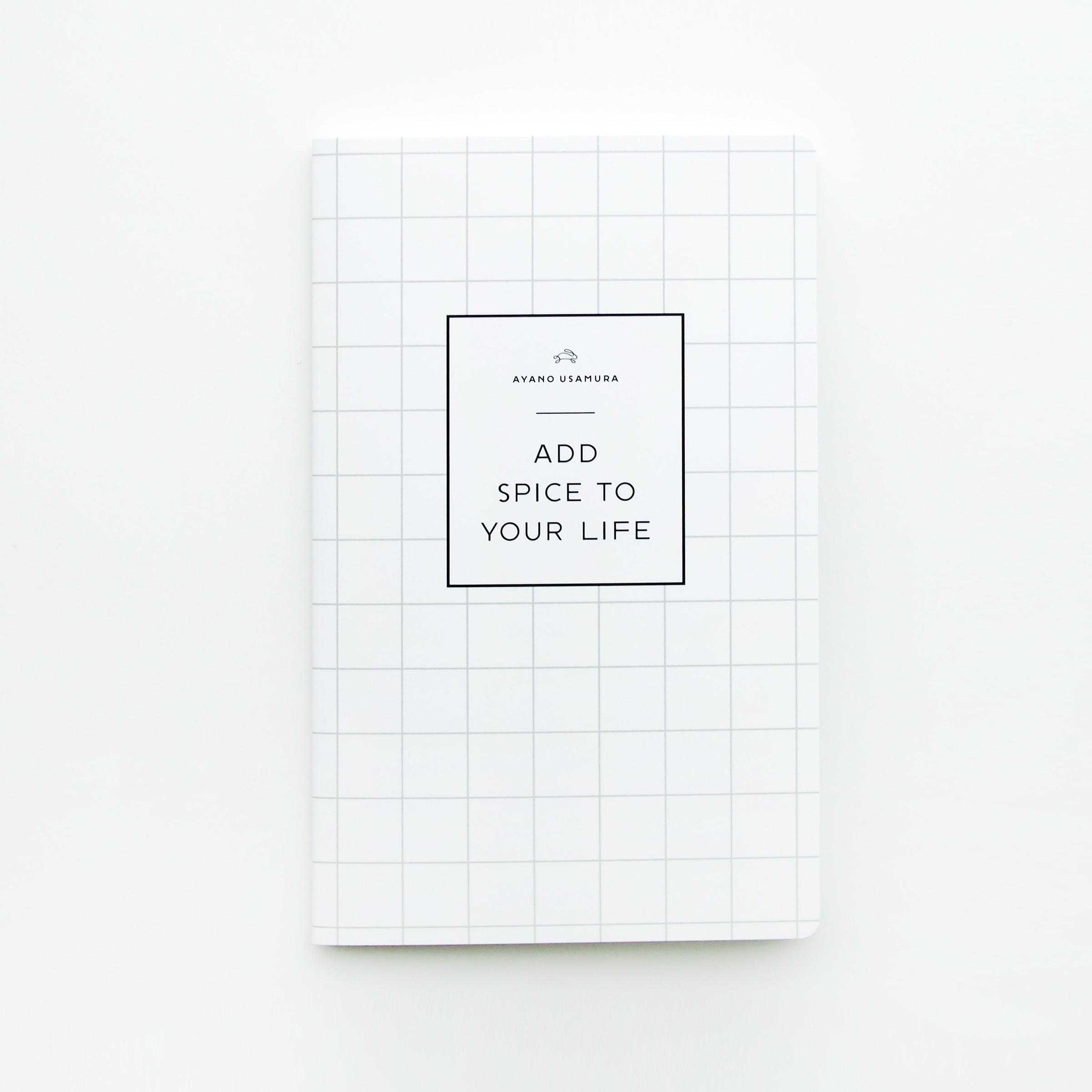 [ 販売終了 ]  兎村手帳 |ホワイトチェック