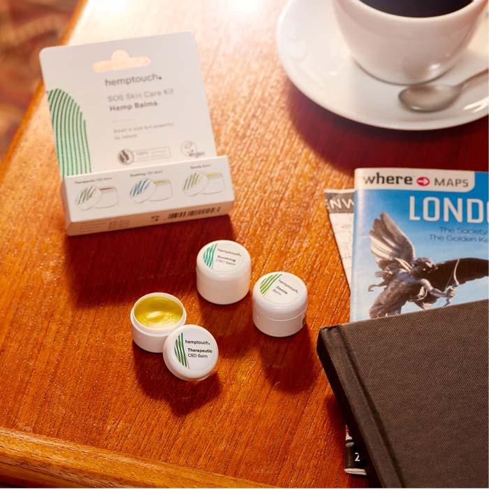 ミニスキンバームキット / SOS Skin Care Kit Hemp Balms