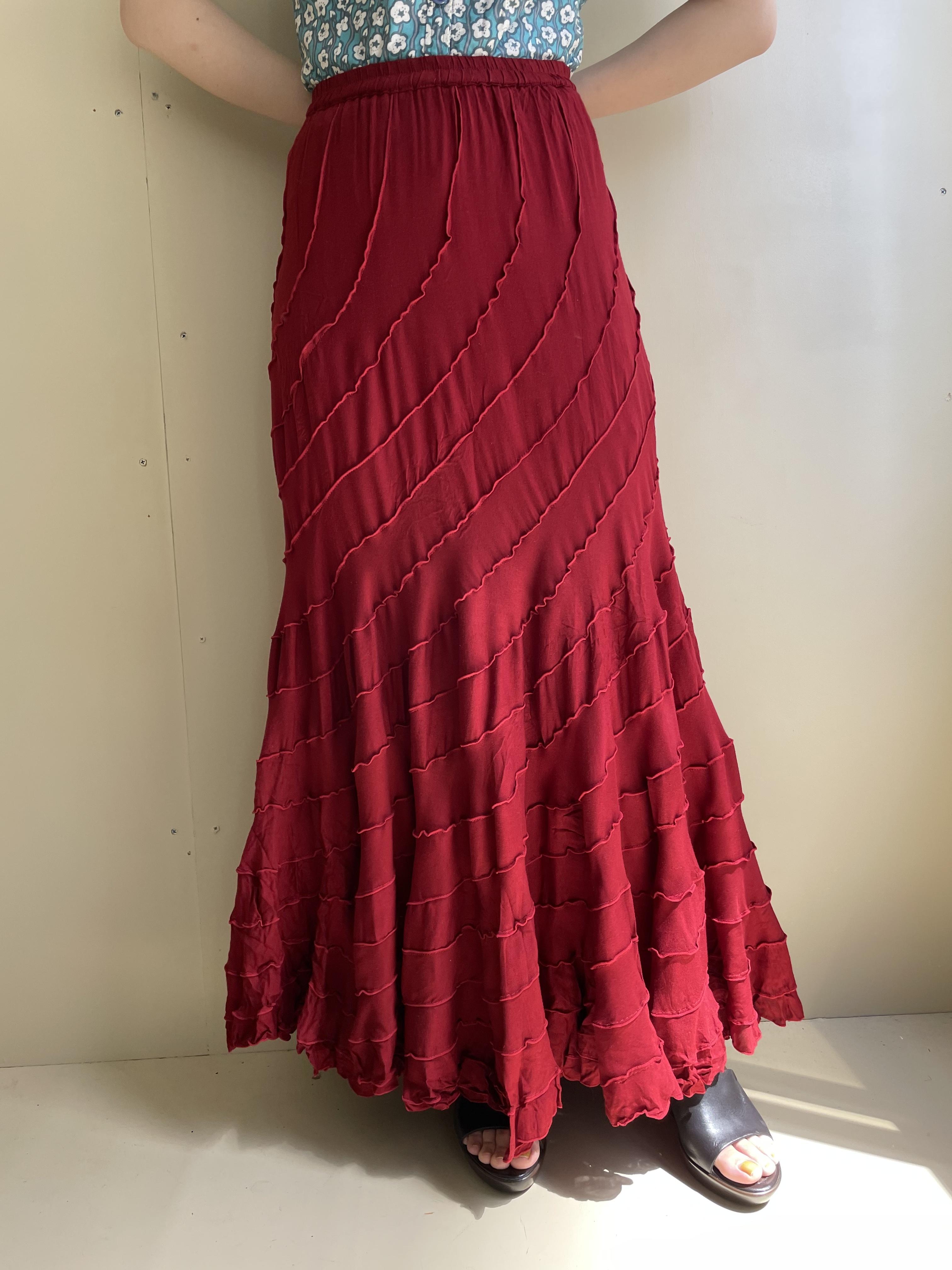 design flare skirt / 7SSSK20-03