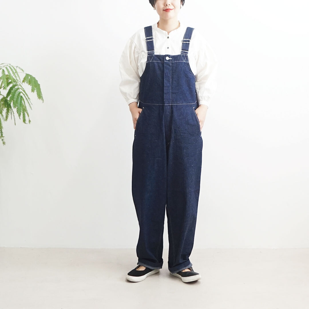 ORDINARY FITS オーディナリーフィッツ DUKE OVERALL(one wash) デュークオーバーオール (品番of-o021ow)