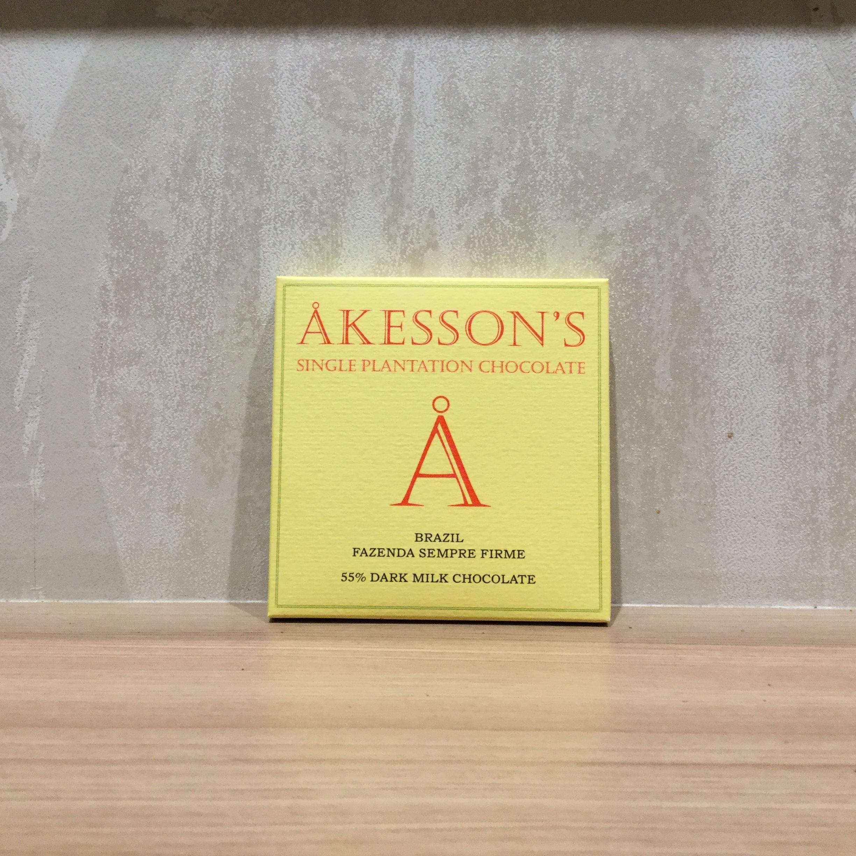 【AKESSON'S/アケッソンズ】ブラジルファゼンダセンプレフェルメ ダークミルク
