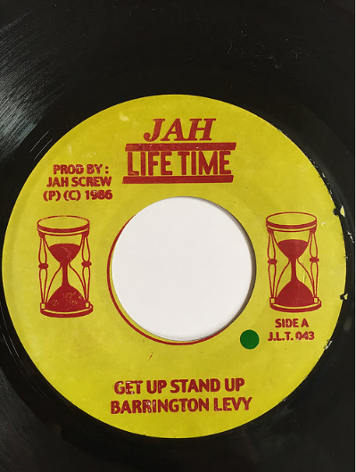 Barrington Levy(バーリントンリヴィ) - Get Up Stand Up【7inch】