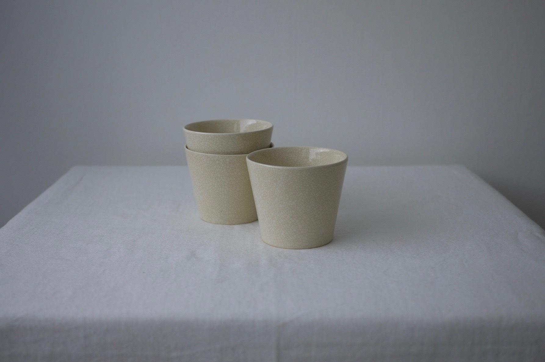 石黒剛一郎  蕎麦猪口(白瓷)