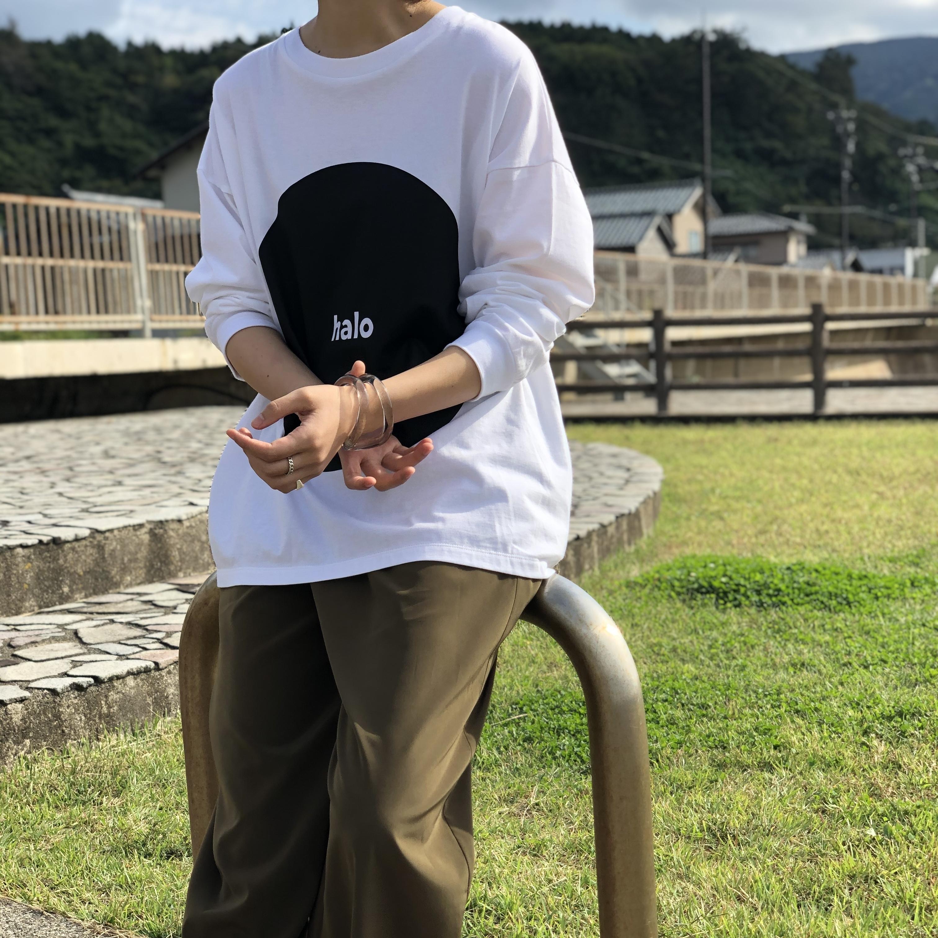 【 siro de labonte 】- R113210 - HALO long Tシャツ