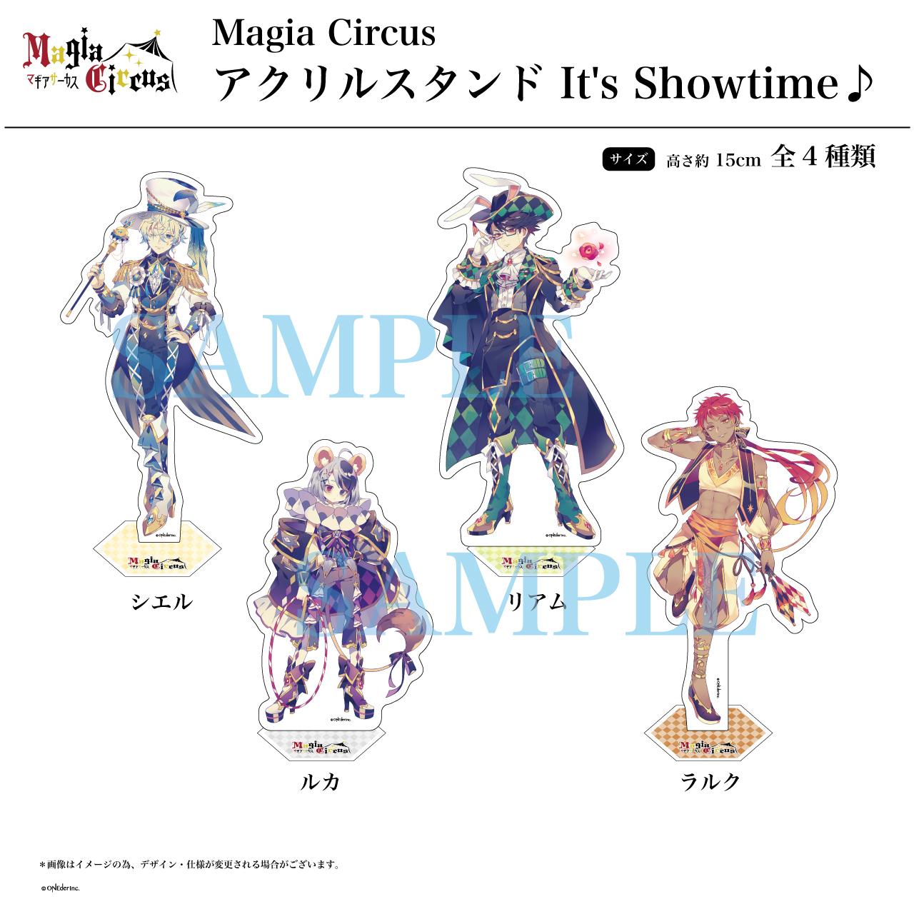 【Magia Circus】アクリルスタンド