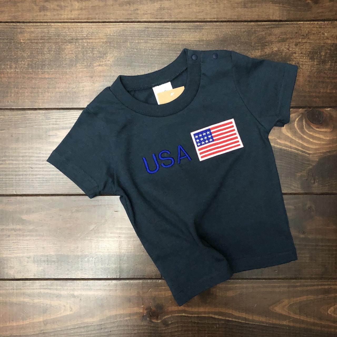 USA flag Tee アメリカ国旗 for KIDS 90サイズ