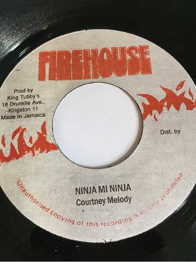 Courtney Melody(コートニーメロディ) - Ninja Mi Ninja【7'】