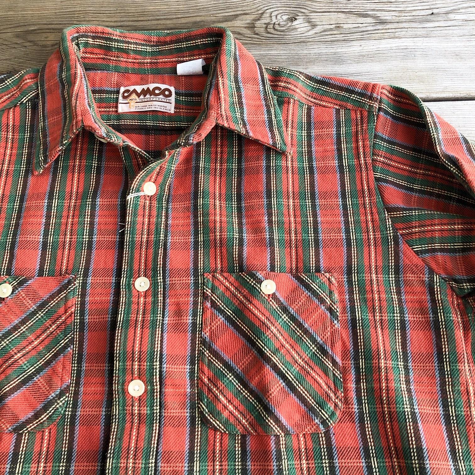 "Bo Sport x CAMCO ""Retro Heavy Flannel Shirts"""