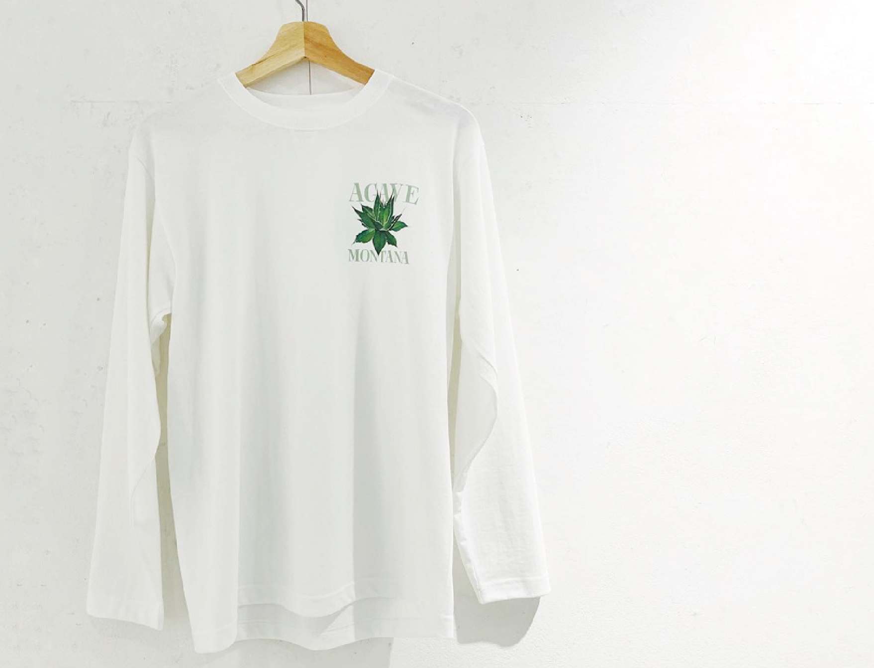 Agave Montana ロングTシャツ
