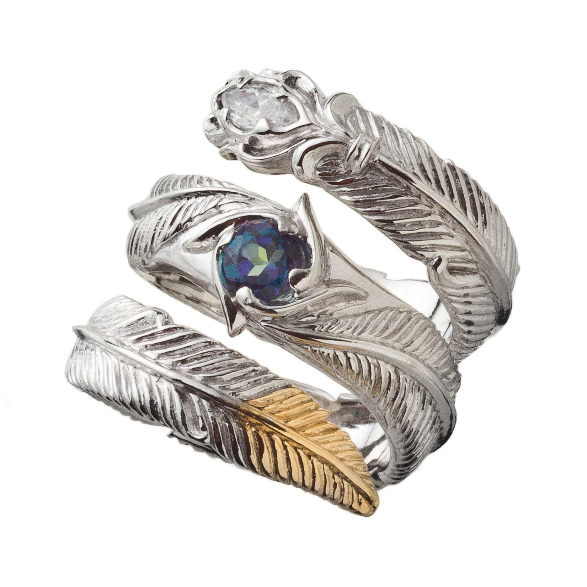 トリプルフェザーリング ACR0263 Triple feather ring