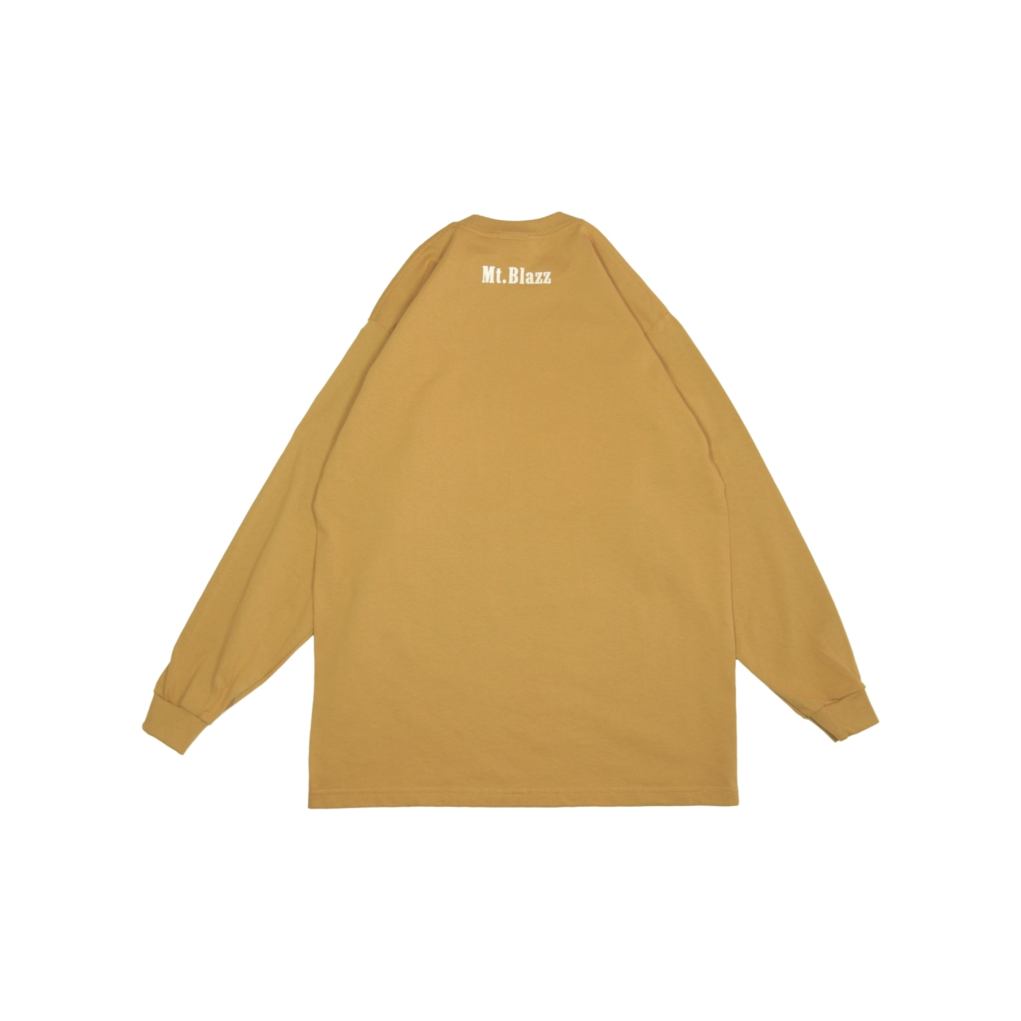 M't Blazz PROCLUB HEAVY L/S TEE [BROWN]