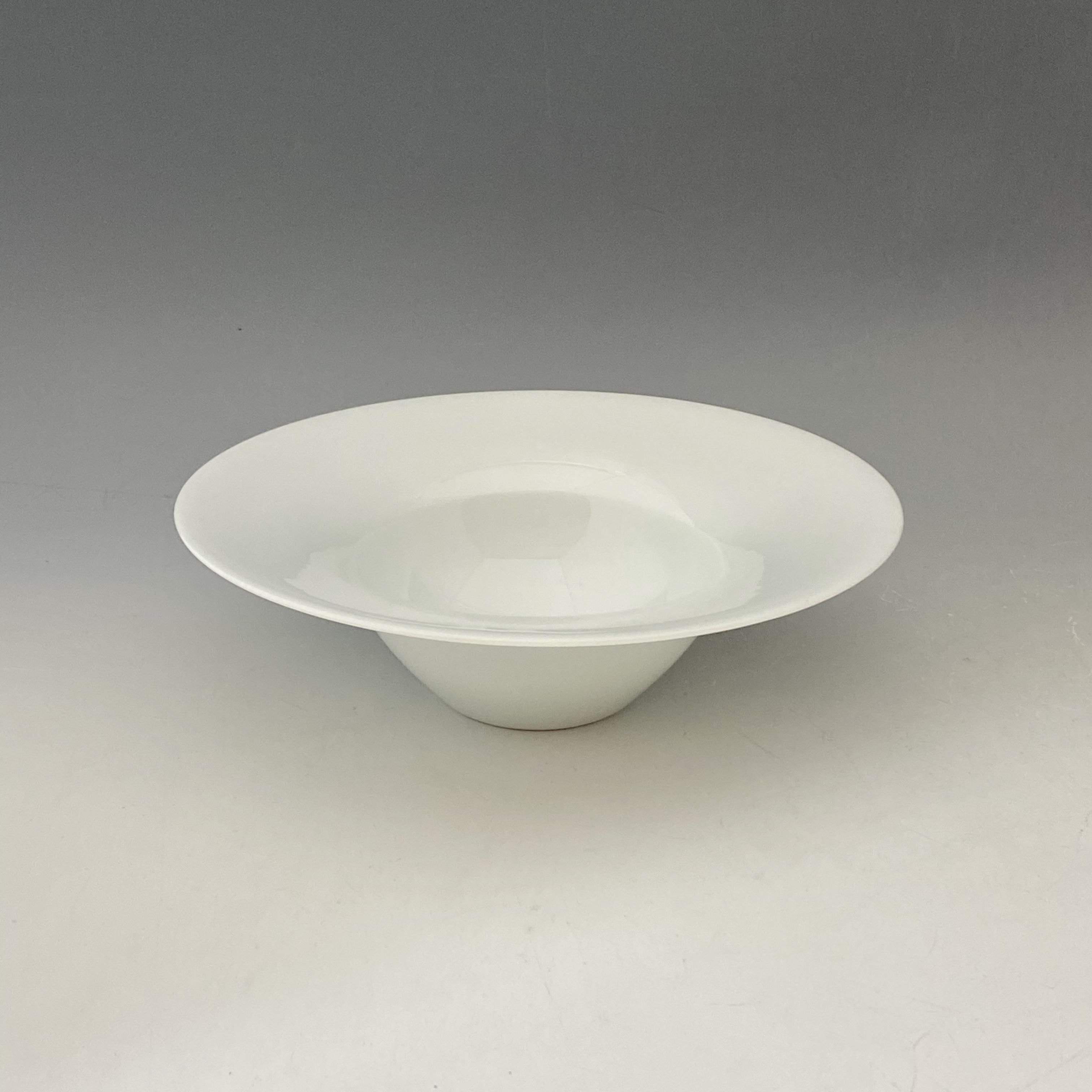 【中尾恭純】白磁スープ碗(大)