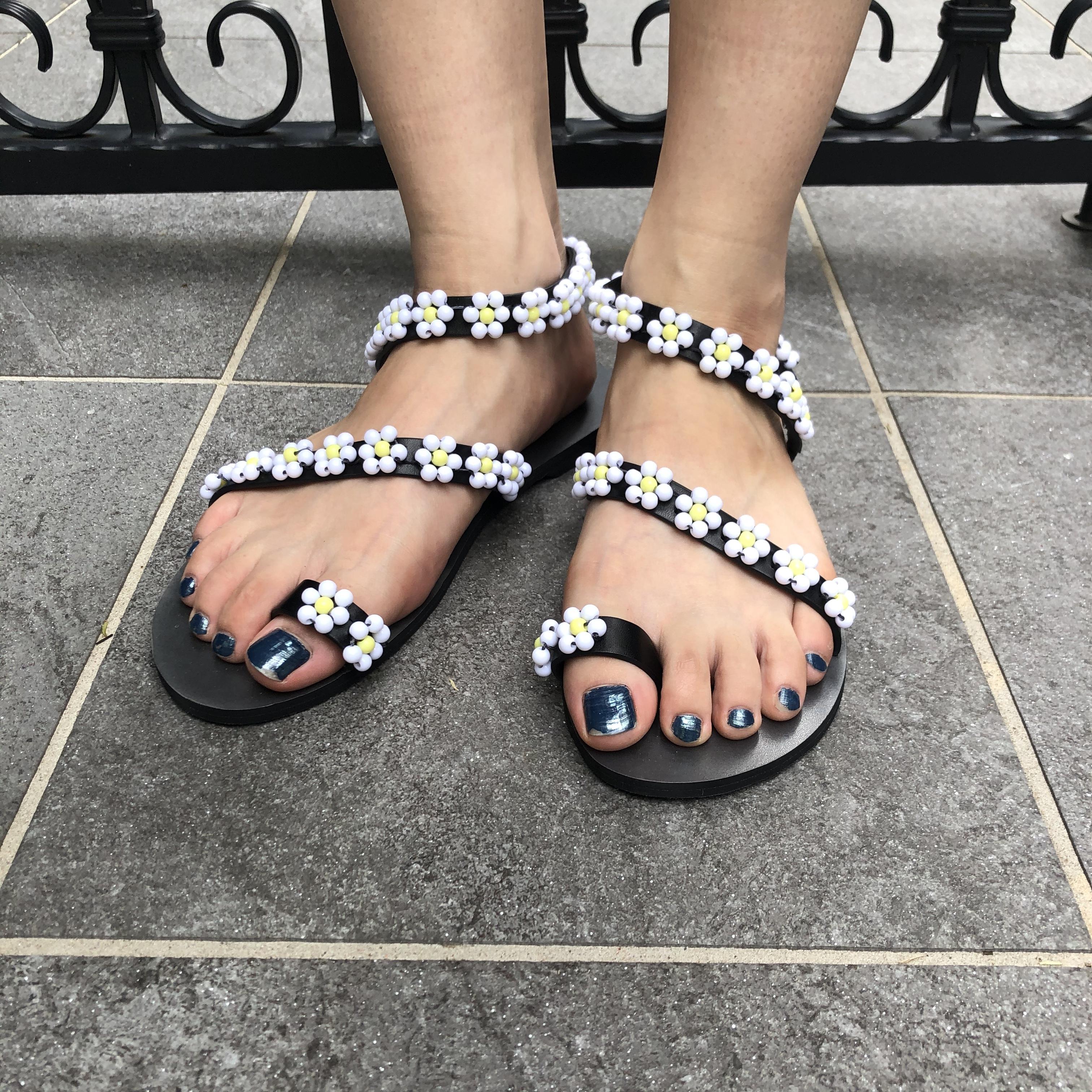 NANA * flower point sandal