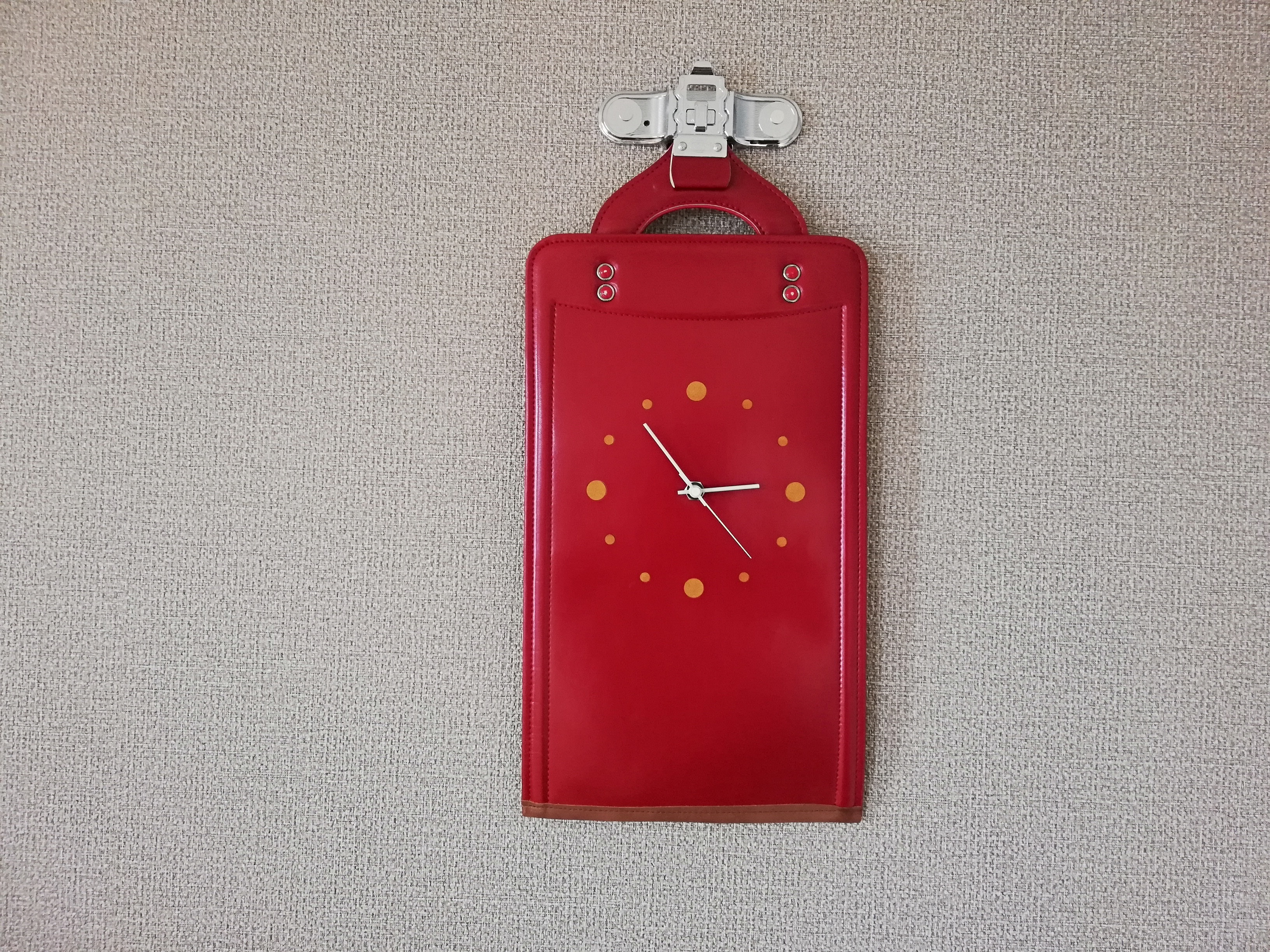 【掛-kakeru- シリーズ】Wall Clock red
