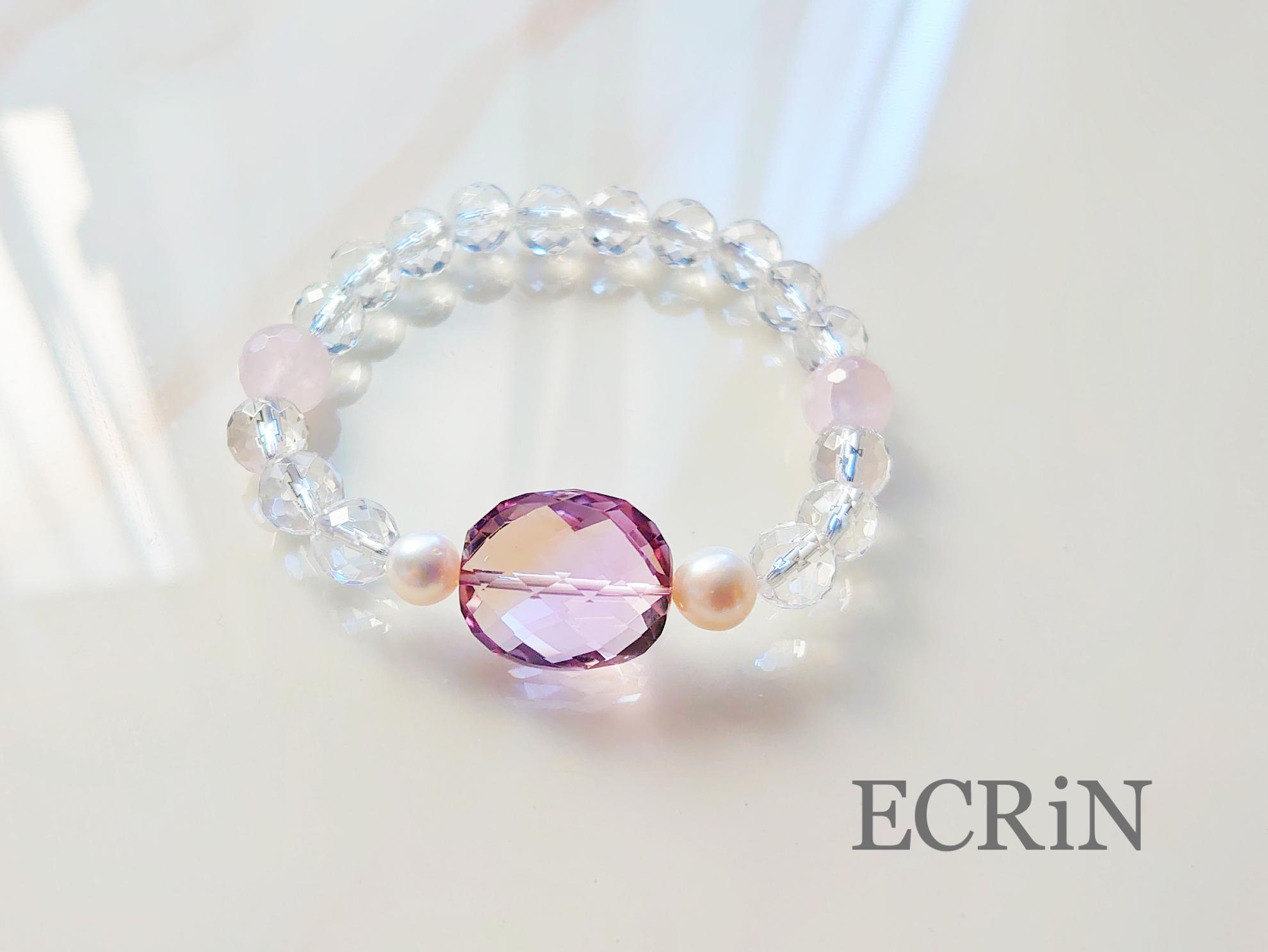 最高級jewelry♡「あなたらしく輝く♡女神のブレスレット」アメトリンブレスレット♡送料無料