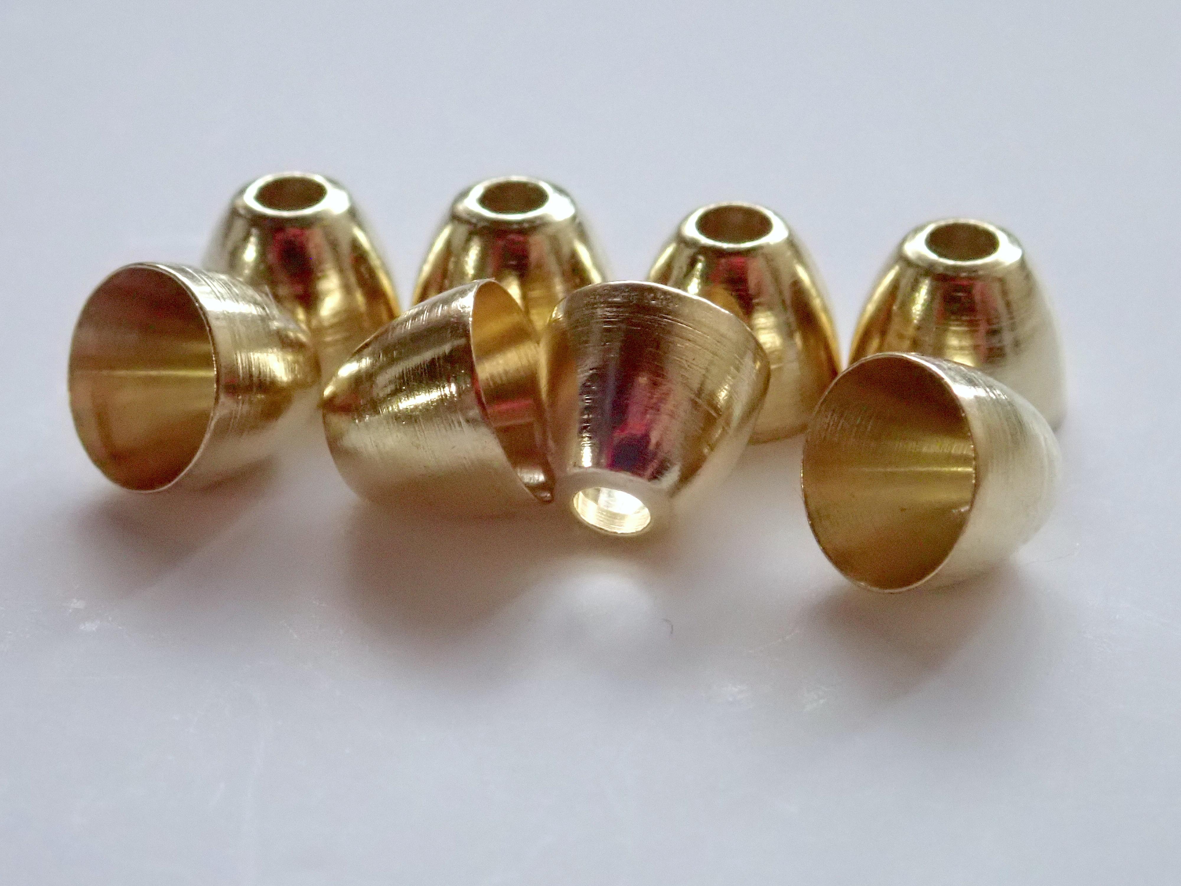 【 AFS Original 】Brass Cone Head 50pcs. / AFS ブラス コーンヘッド
