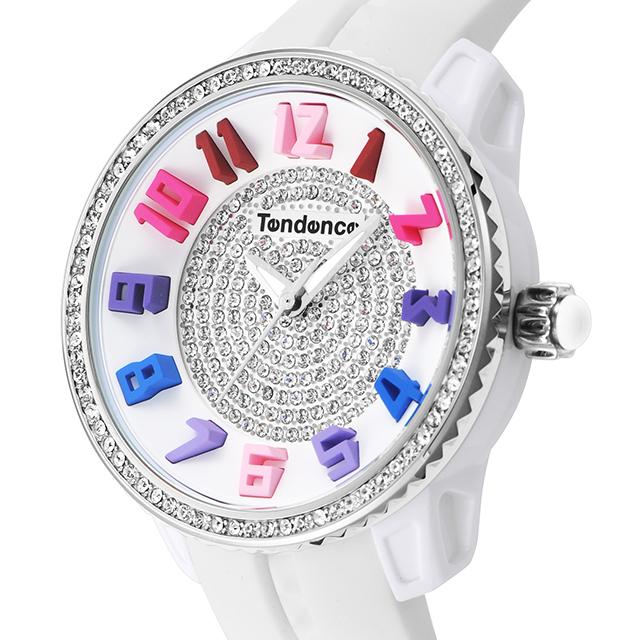 【Tendence テンデンス】TG930107R GULLIVER RAINBOWガリバーレインボー(日本限定/スワロフスキー)/国内正規品 腕時計