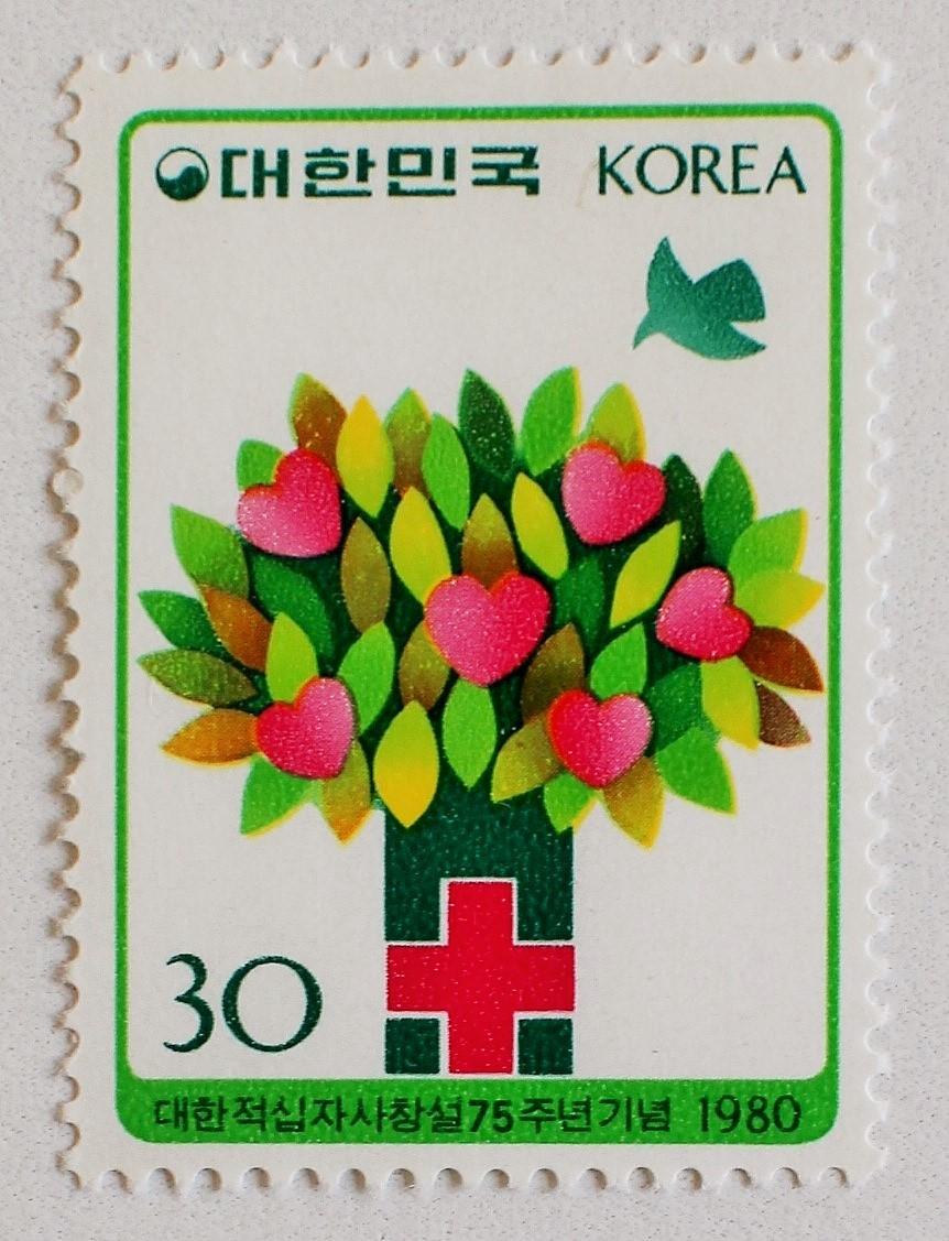 赤十字 / 韓国 1980