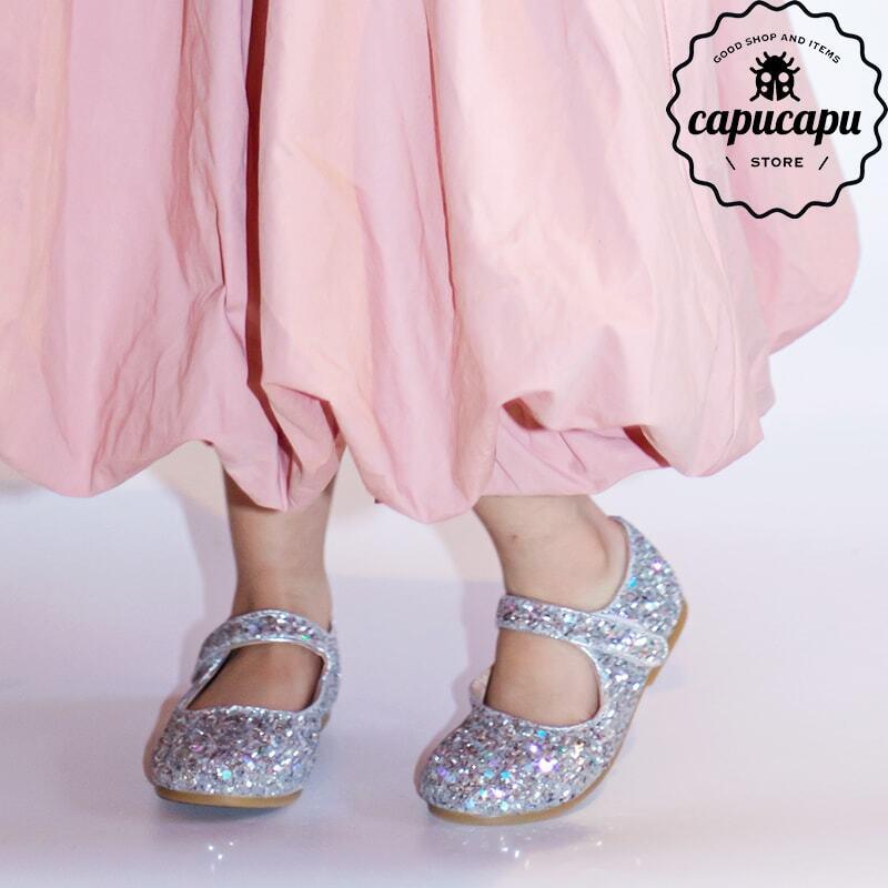 «予約» glitter flat pumps 3colors グリッターパンプス