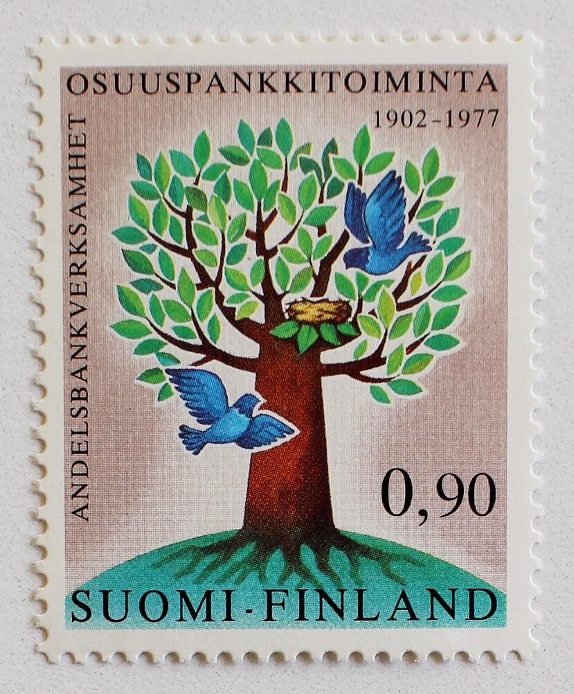 木と鳥 / フィンランド 1977