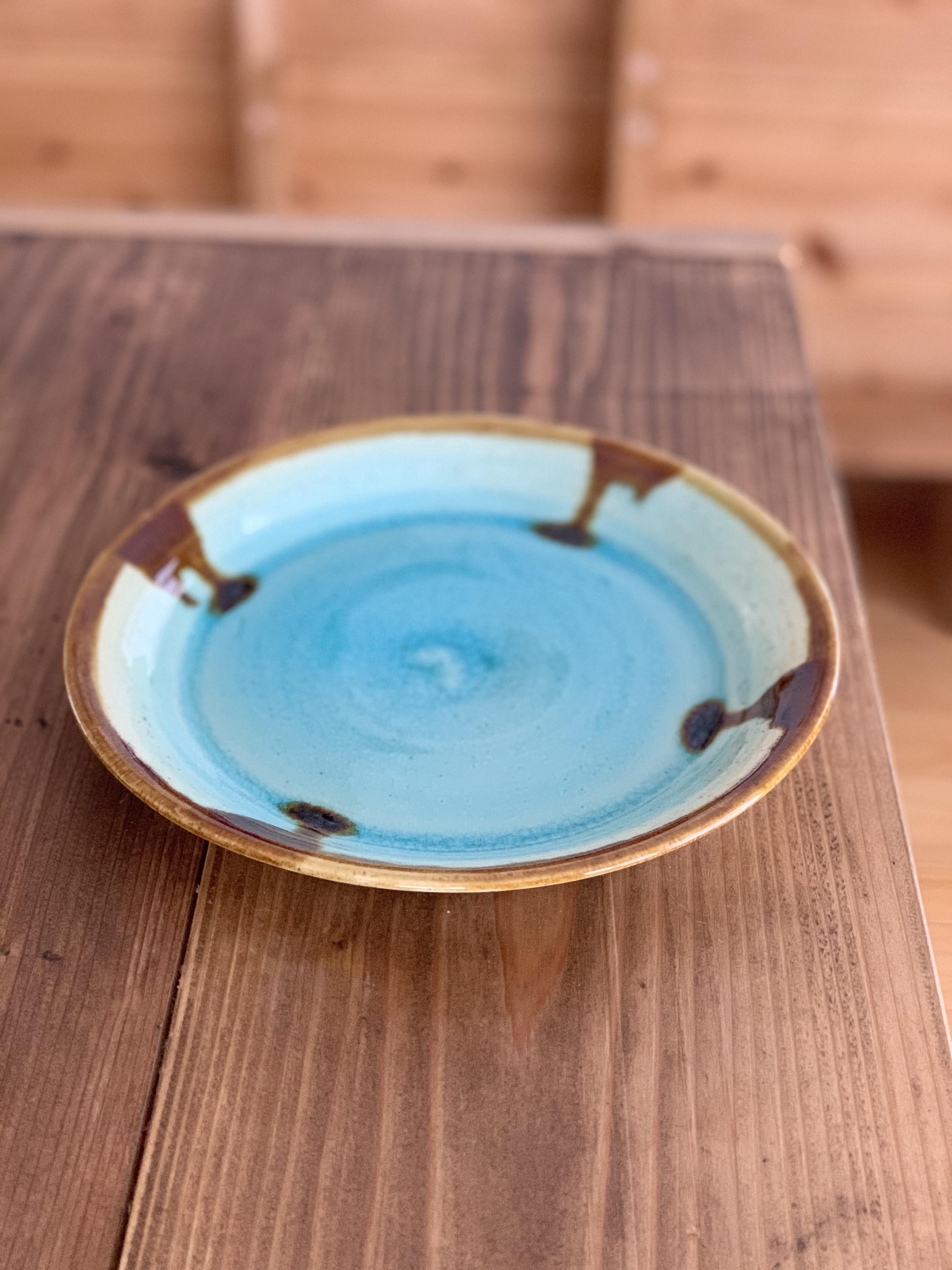 『Al mare アルマーレ』43 Pottery 24cmプレート