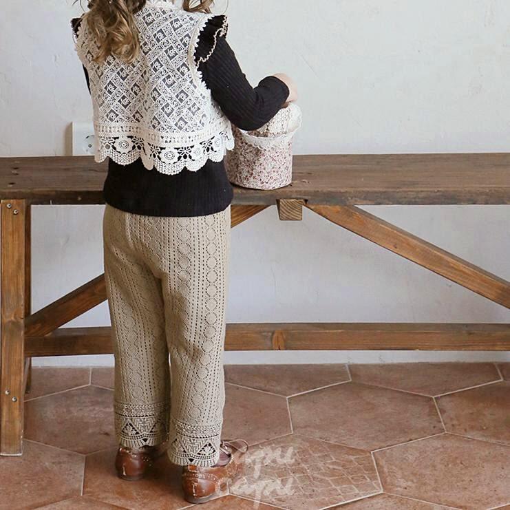 «先行予約割引» flo monica pants 2colors モニカパンツ