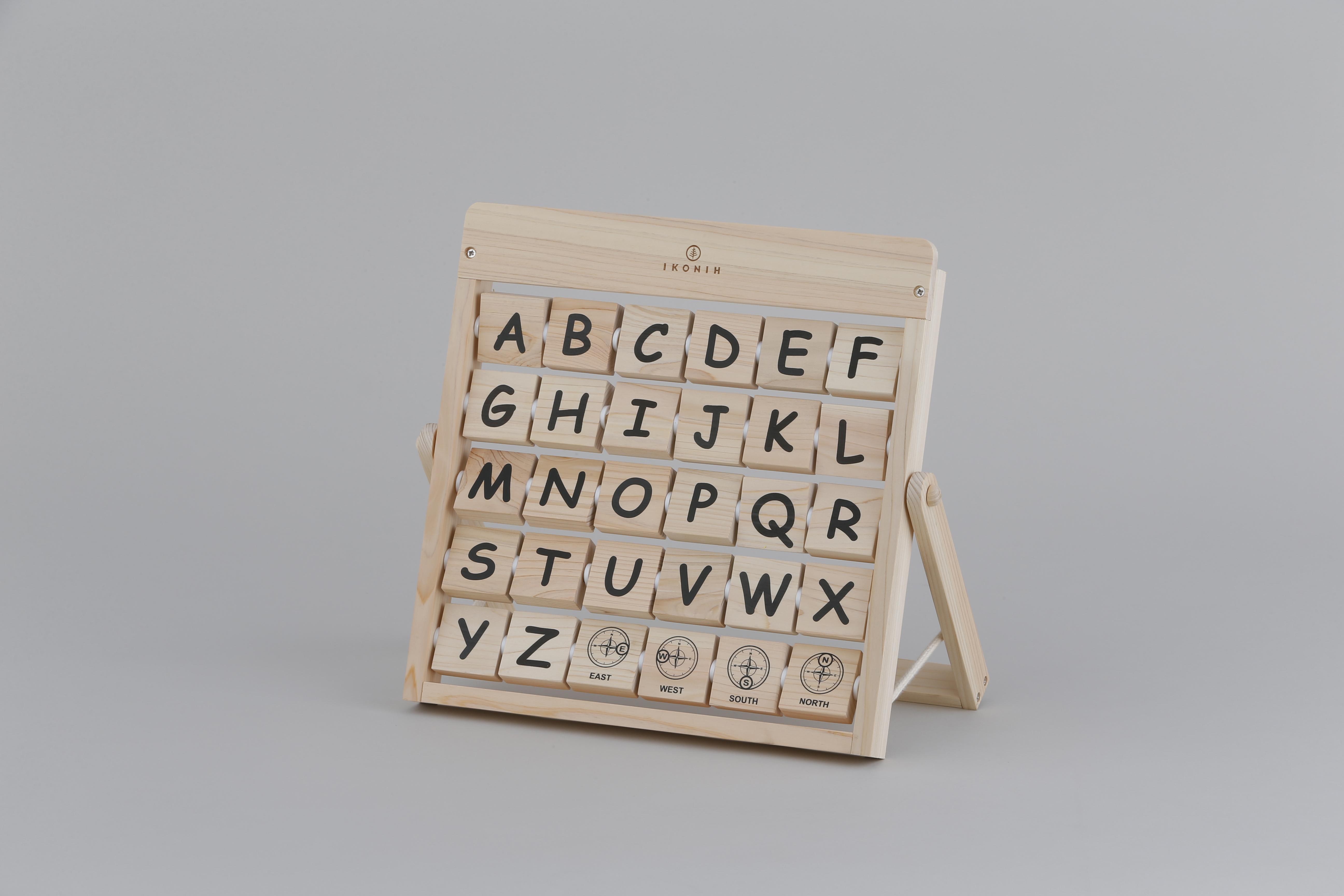 アルファベット ALPHABET   木のおもちゃ 知育 英語教育