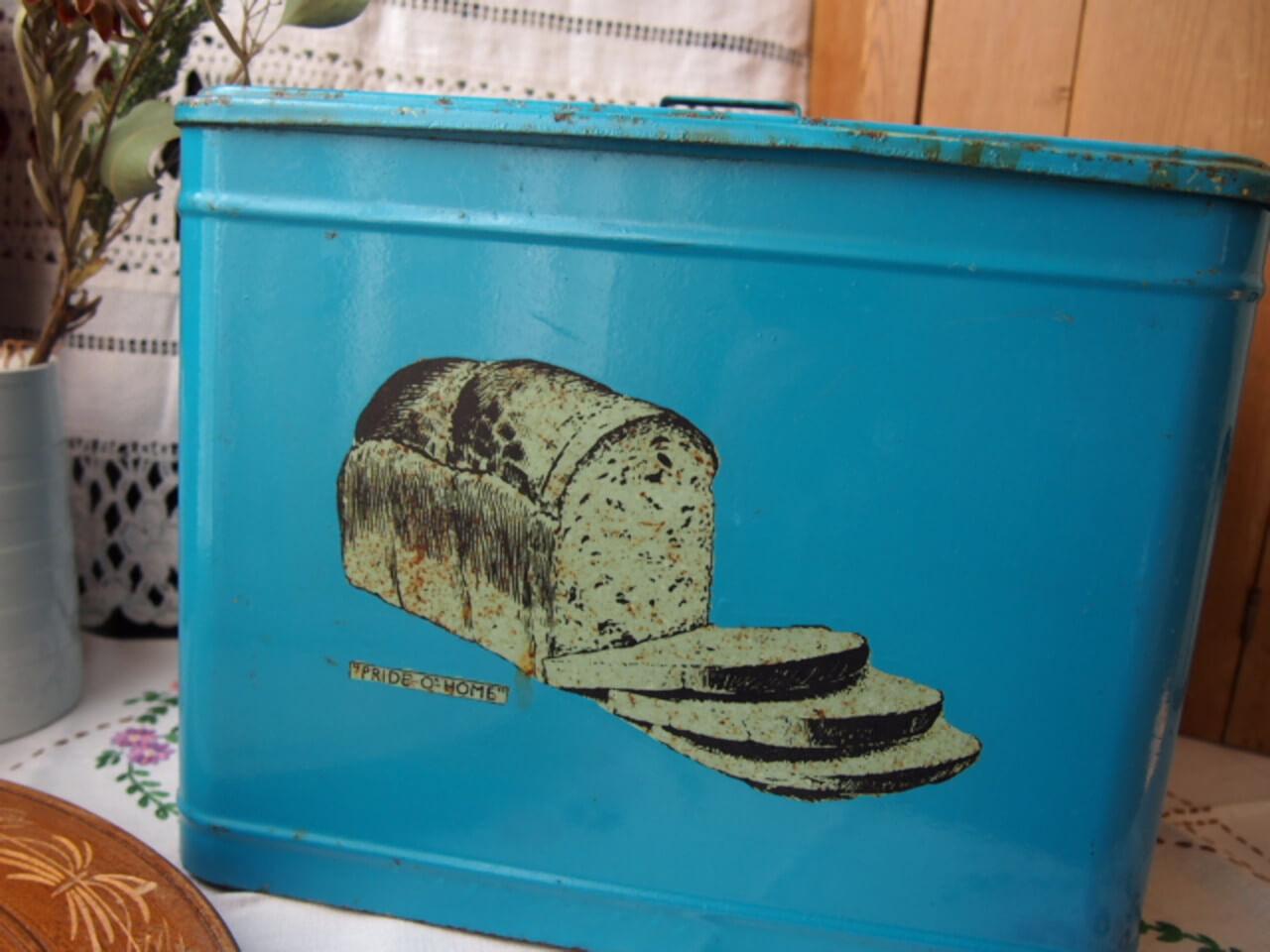 イギリスアンティーク ブレッド缶(ホームプライド)